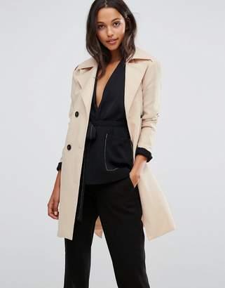 Vero Moda Trenchcoat $73 thestylecure.com
