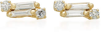 Suzanne Kalan 18K Gold Diamond Earrings