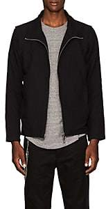Chapter MEN'S LINEN-COTTON JACKET-BLACK SIZE XS