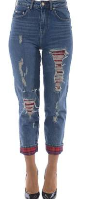 Tommy X Gigi Hadid Lexia Distressed Jeans