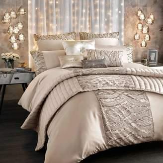 Kylie Minogue KYLIE at home - Light Gold 200 Thread Count 'Celeste' Sequin Duvet Cover