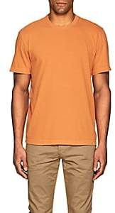 James Perse MEN'S COMBED COTTON T-SHIRT-ORANGE SIZE 2