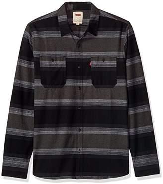 Levi's Men's Acres Long Sleeve Cotton Flannel Shirt