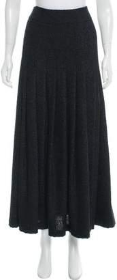 Chanel Wool-Blend Bouclé Skirt