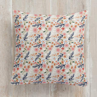 Wildflower Crest Self-Launch Square Pillows
