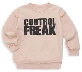 Nununu Baby Girl's, Little Girl's & Girl's Control Freak Sweater