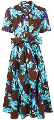 P.A.R.O.S.H. floral print shirt dress