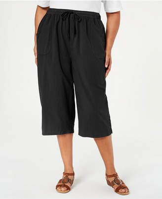 Karen Scott Plus Size Kiera Capri Pants