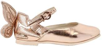 Sophia Webster Chiara Mini Metallic Leather Shoes