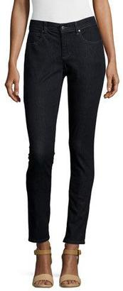 Eileen Fisher Organic Soft Stretch Skinny Jeans, Vintage Black $178 thestylecure.com