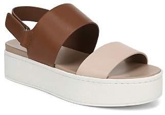 Vince Women's Westport Leather Platform Sandals