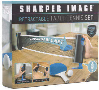 Retractable Go Anywhere Table Top Tennis