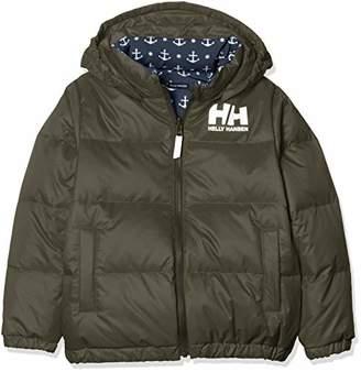 Helly Hansen (ヘリー ハンセン) - [ヘリーハンセン] K Reversible Down Jacket HJ11853 キッズ シダーグリーン 日本 140 (日本サイズ140 相当)