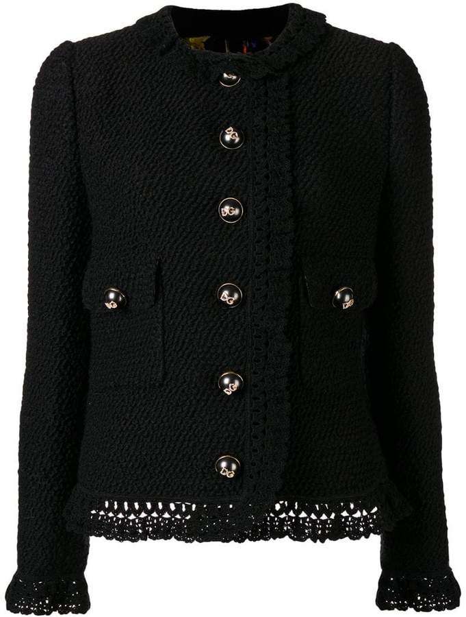 Dolce & Gabbana buttoned classic jacket