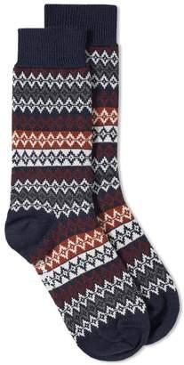 Barbour Duxbury Fair Isle Sock