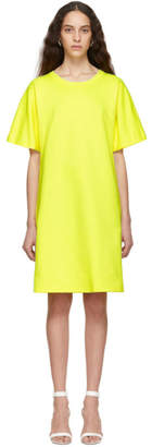 A Plan Application A-Plan-Application Yellow T-Shirt Dress