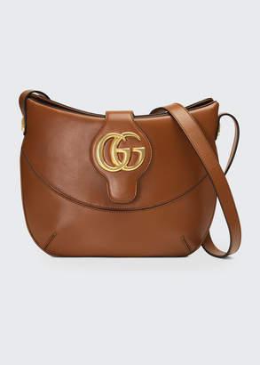 Gucci Arli Medium Leather Shoulder Bag