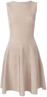 Valenti Antonino sleeveless flared dress