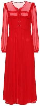 Miu Miu Silk georgette dress
