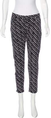 Kenzo Printed Mid-Rise Jeans