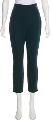 Dolce & Gabbana Virgin Wool High-Rise Pants
