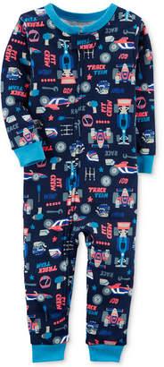 Carter's Race Car-Print Cotton Pajamas, Baby Boys