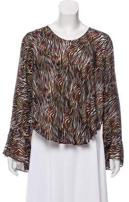 IRO Silk Bell Sleeve Top w/ Tags
