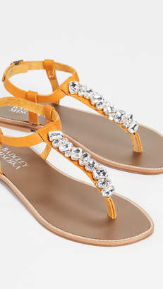 Badgley Mischka Lucia T-Strap Sandals