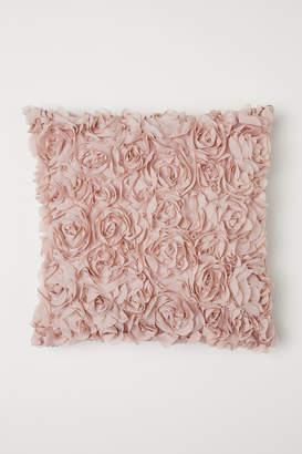 H&M Chiffon-flowered cushion cover