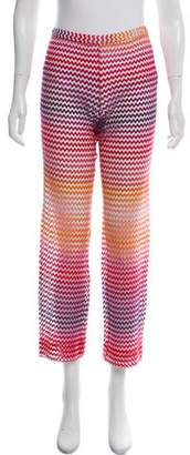 Missoni Mare Sheer Patterned Pants