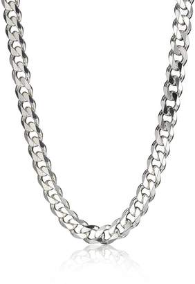 DAY Birger et Mikkelsen The Love Silver Collection Sterling Silver 3oz Solid Diamond-Cut 20 Inch Mens Curb Chain
