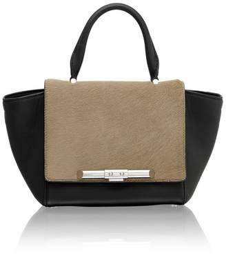Amanda Wakeley Mini Newman Camel Black Bag