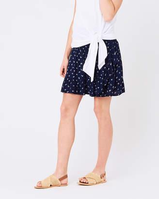 Ripe Maternity Bobbie Ruffle Skirt