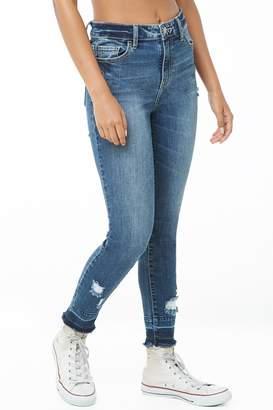 Forever 21 Release Hem Skinny Jeans