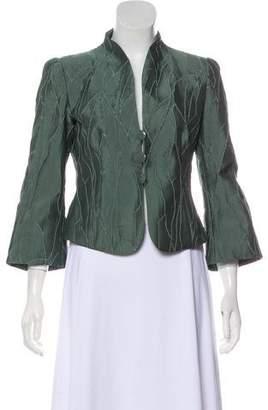 Armani Collezioni Textured Casual Jacket