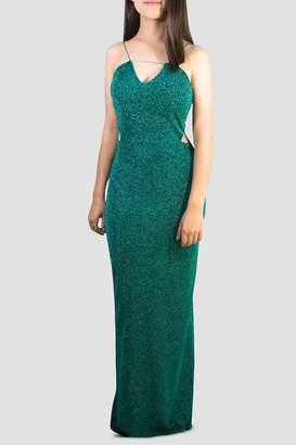 SoZu Cutout Waist Dress