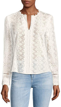 Rebecca Taylor Florence Lace Blouse