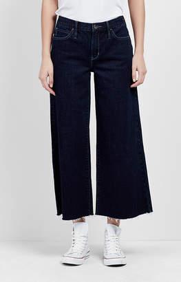 Nicole Miller Midnight Wide Leg Crop Jeans