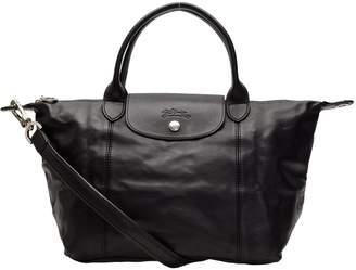 At Canada Longchamp Bags 1512 737 001 Le Pliage Cuir Shoulder Bag