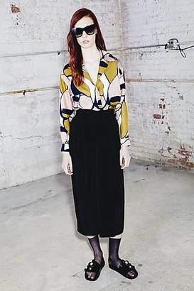 CONTEMPORARY Elastic Waist Skirt
