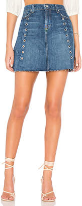 7 For All Mankind Skirt with Architecture Seams.
