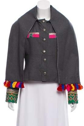 Matthew Williamson Embroidered Wool Jacket