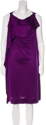 Bottega Veneta Draped Silk Dress