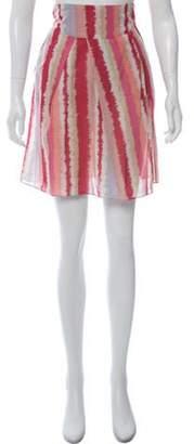 Marni Printed Knee-Length Skirt Pink Printed Knee-Length Skirt
