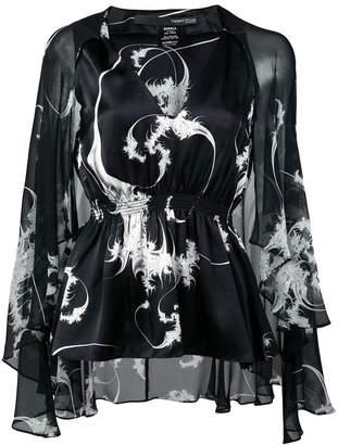 Thomas Wylde Nightshade blouse