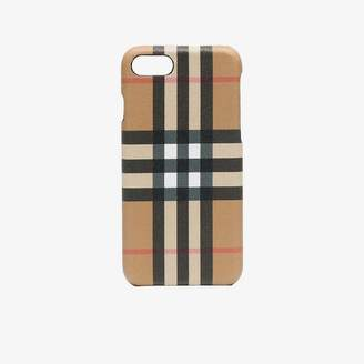 Burberry checked iphone 8 case