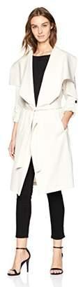 Soia & Kyo Women's Ornella Drapy Trench Coat