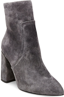 Steve Madden Women's Jaque Pointed Block-Heel Booties $129 thestylecure.com