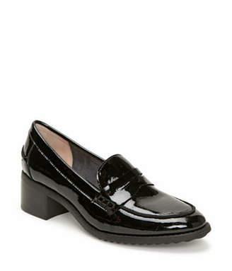 Me Too Darra Block Heel Loafer Pump