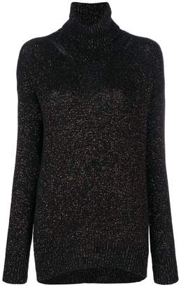 Etro metallic effect jumper